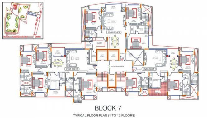 TVH Lumbini Square Cluster Plan