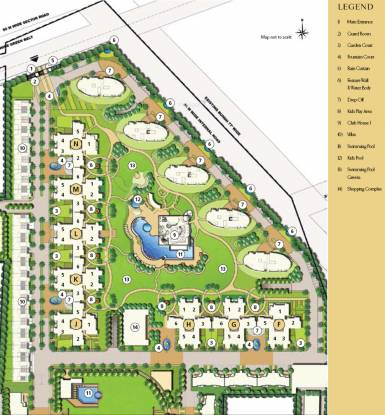 Emaar Premier Terraces Master Plan