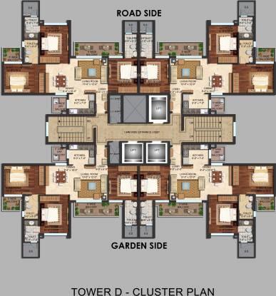 Mapsko Mount Ville Cluster Plan