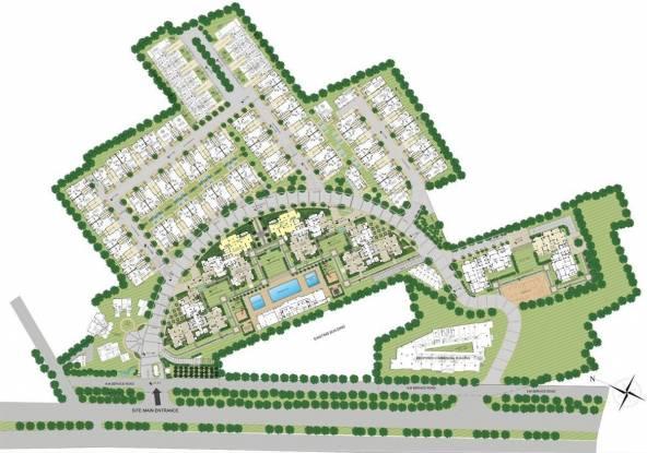 Emaar The Palm Springs Site Plan