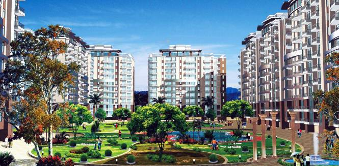 Dwarkadhish Aravali Heights Elevation
