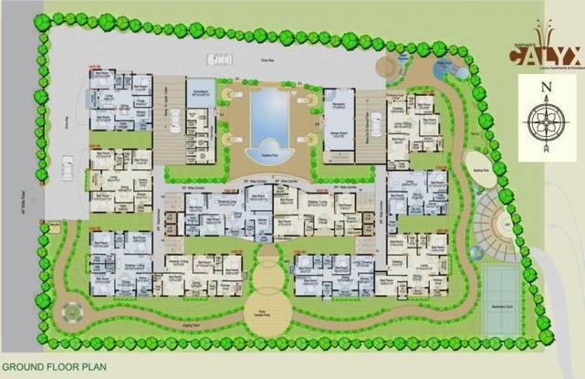 Maphar Calyx Cluster Plan
