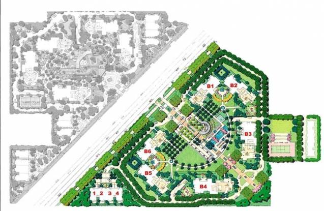 Unitech World Spa Site Plan