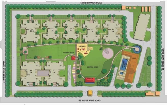 Bestech Park View Delight Layout Plan