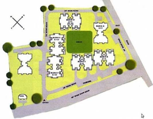 Ardee The Residency Site Plan