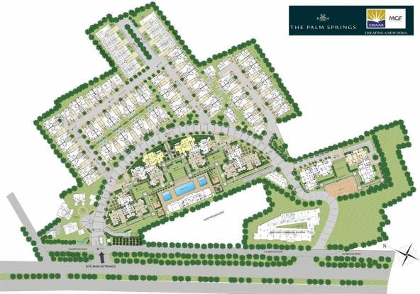 Emaar The Palm Springs Villa Master Plan