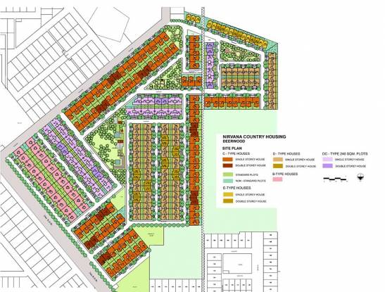 Unitech Deerwood Chase Layout Plan
