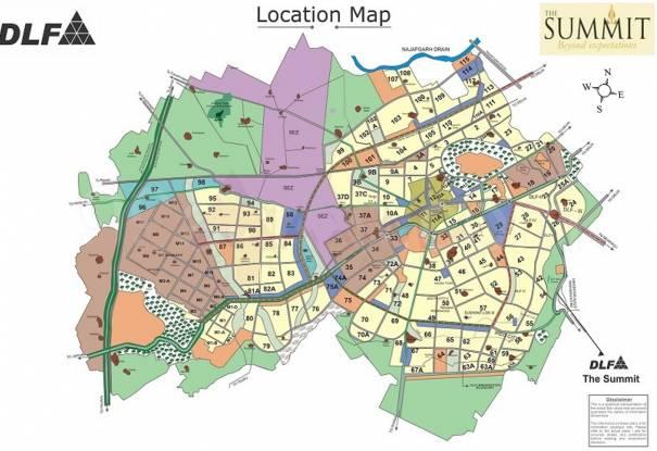 DLF The Summit Location Plan
