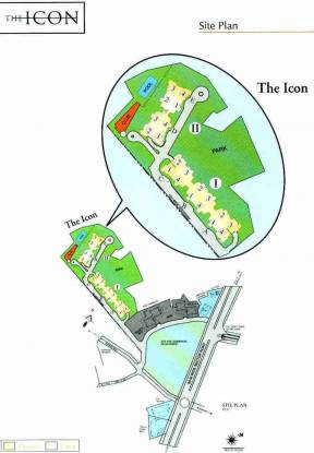 DLF The Icon Site Plan