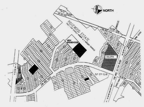 DLF Ridgewood Estate Location Plan
