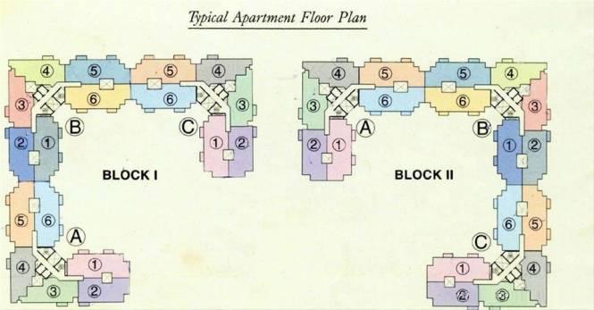 DLF Wellington Estate Cluster Plan