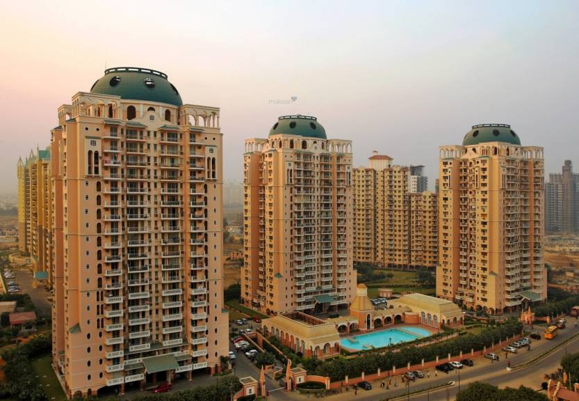 DLF Trinity Towers Elevation