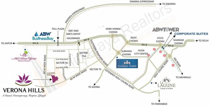 ABW Verona Hills Location Plan