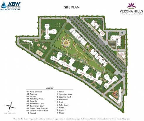 ABW Verona Hills Site Plan