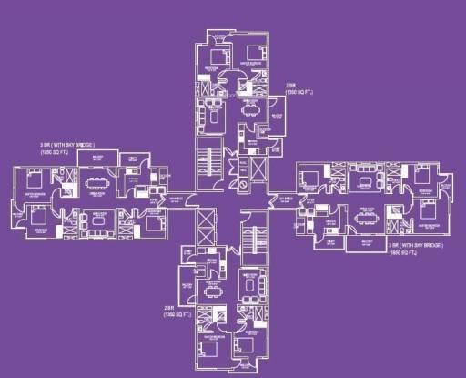 Adel Sky Ville Cluster Plan