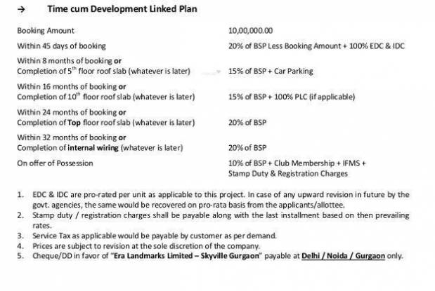 Adel Sky Ville Payment Plan