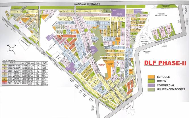 DLF Phase 2 Site Plan