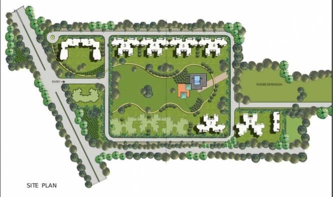 Mahendra Meadow Site Plan