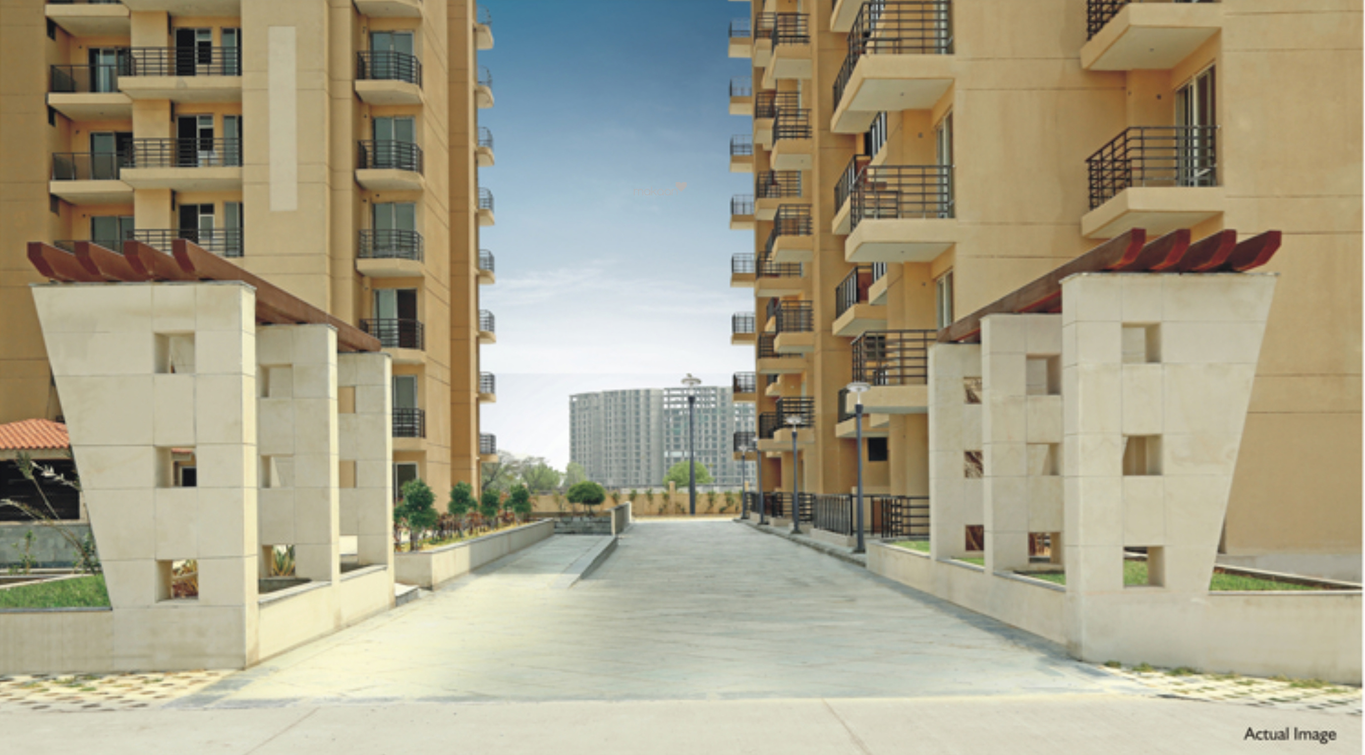 545 sq ft 1BHK 1BHK+1T (545 sq ft) + Pooja Room Property By Property Space In The Hermitage, Sector 103