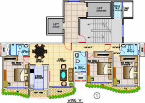 Tridhaatu Aum Cluster Plan
