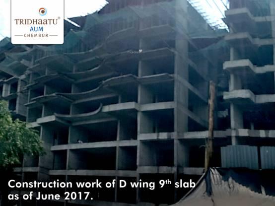 Tridhaatu Aum Construction Status