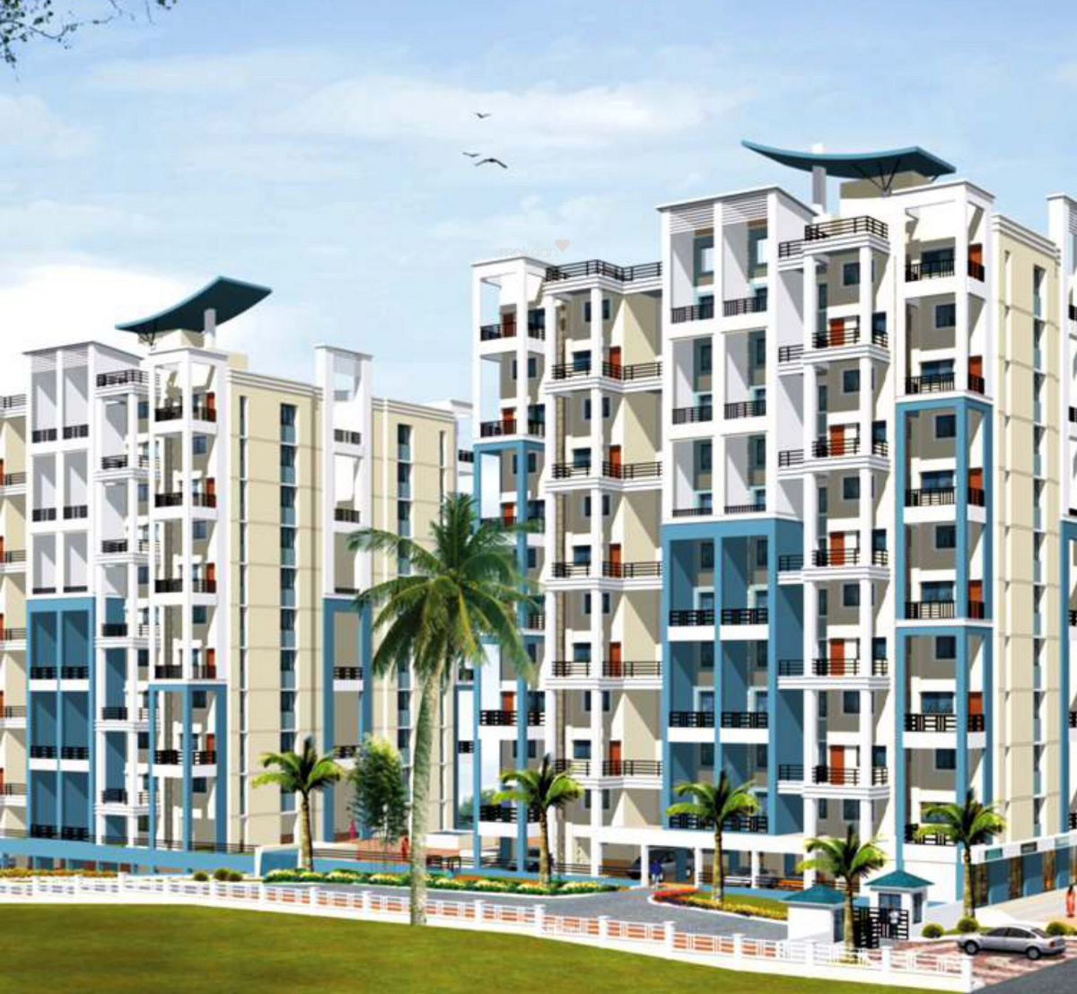 1200 sq ft 2BHK 2BHK+2T (1,200 sq ft) Property By Raviraj Real Estate In Crystal Garden, Baner