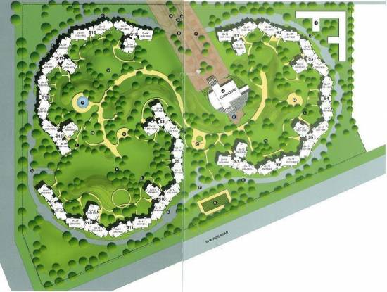 Unitech The Close Layout Plan