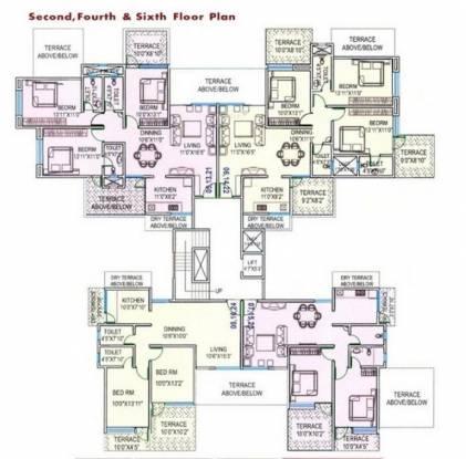 Dutt Sai Datt Residency Cluster Plan