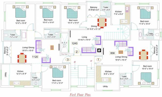 NewCrest Sai Enclave Cluster Plan