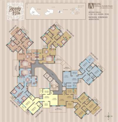 Rachana Beverly Hills Cluster Plan