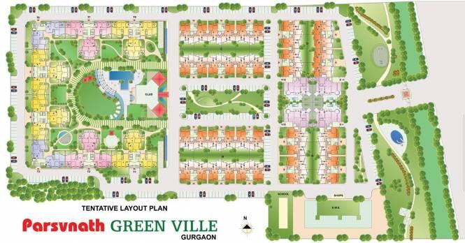 Parsvnath Green Ville Master Plan