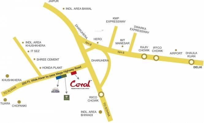 MVL Coral Location Plan