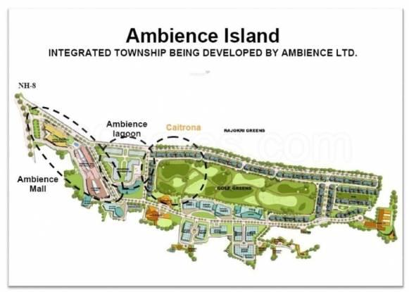 Ambience Lagoon Master Plan