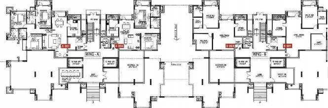 Godrej Woodsman Estate Cluster Plan
