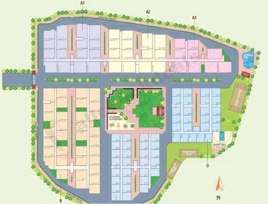 Modi Silver Springs Layout Plan