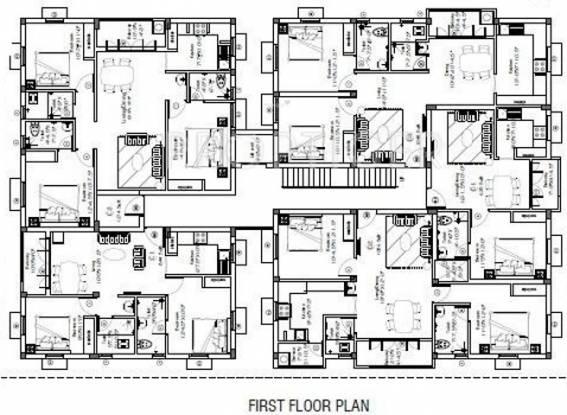Shrusti Vasudev Cluster Plan
