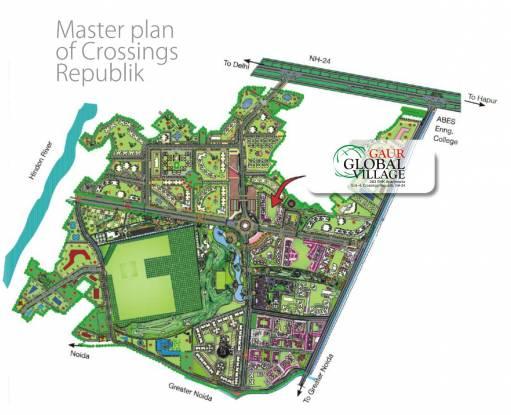 Gaursons Gaur Global Village Master Plan