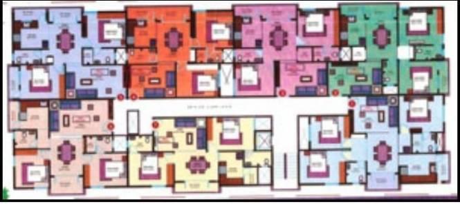 Mahaghar Sri Sai Nilayam Cluster Plan