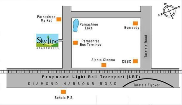 Skyline Skyline Apartments Location Plan