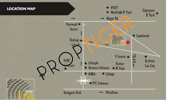 Karan Ira Location Plan