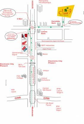 Prasiddhi Cloud 9 Location Plan