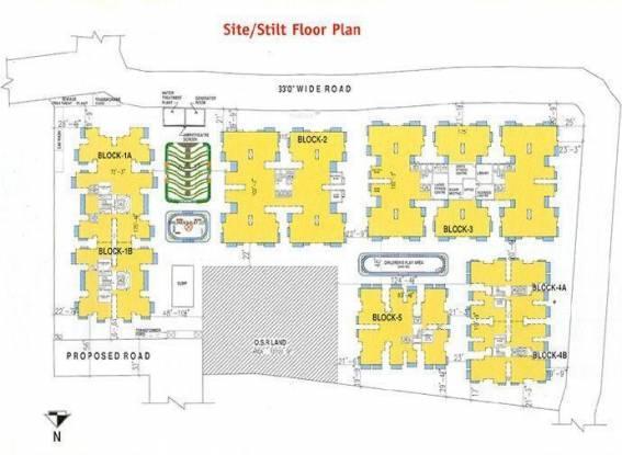 DABC Gokulam Phase I Site Plan