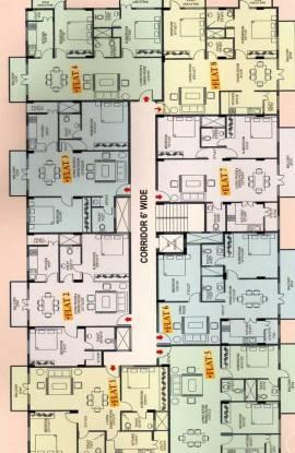AR Manjunatha Homes Cluster Plan