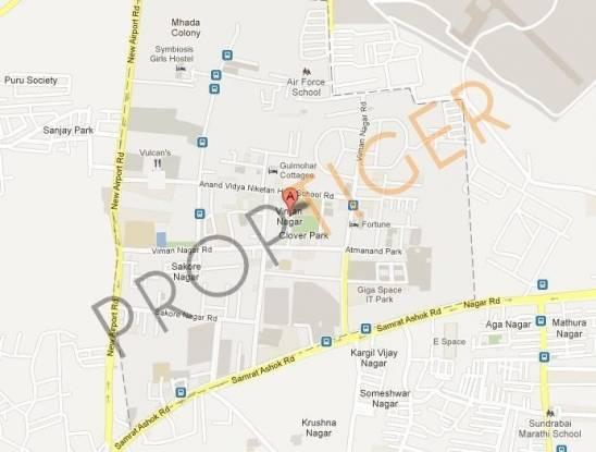 Karia Konark Nagar Phase 1 Location Plan