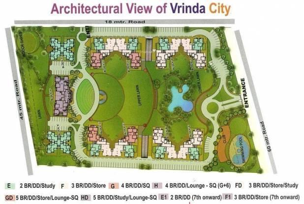Samiah Vrinda City Layout Plan