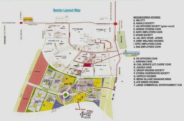Samiah Vrinda City Location Plan