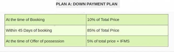 Skytech Merion Residency II Payment Plan