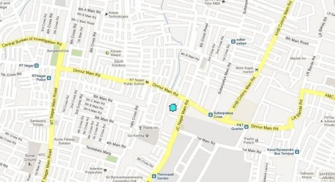 Gagan Shilp Location Plan