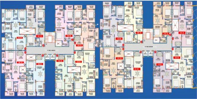 Mahaveer Ridge Cluster Plan