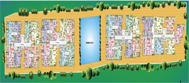 Mahaveer Ridge Site Plan